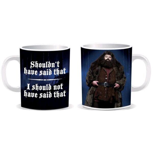 Harry Pooter Hagrid kerámia bögre