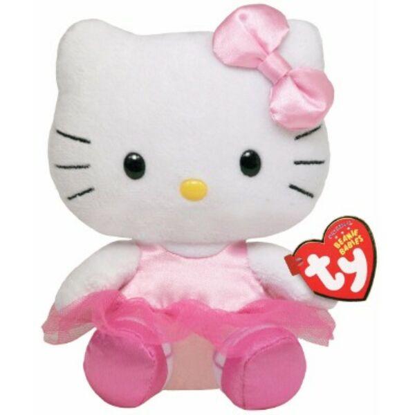 15 cm-es pici plüss rózsaszín balerina Hello Kitty 69ca297f74