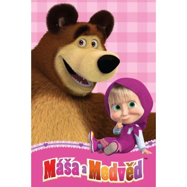 Mása és a medve takaró
