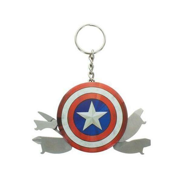 Multifunkcionális Amerika Kapitány pajzs kulcstaró