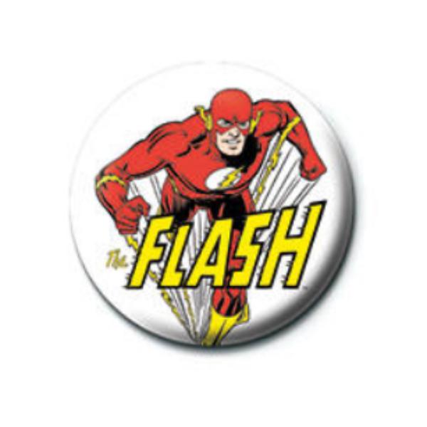Flash a villám kitűző