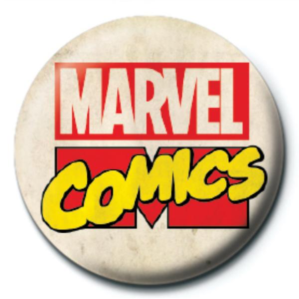 Klasszikus Marvel logós pici kitűző