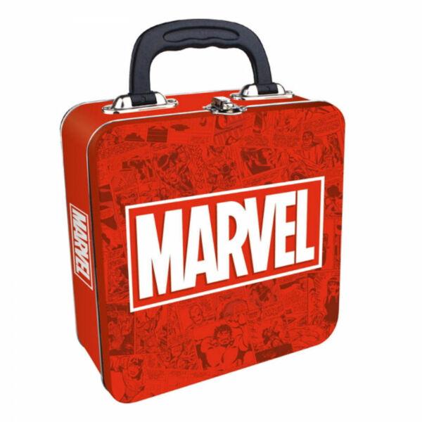 MARVEL logós fém uzsonnás táska