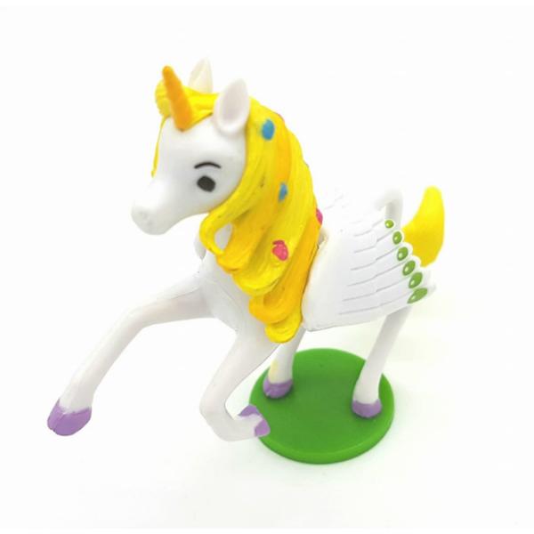 Onchao gumírozott műanyag figura