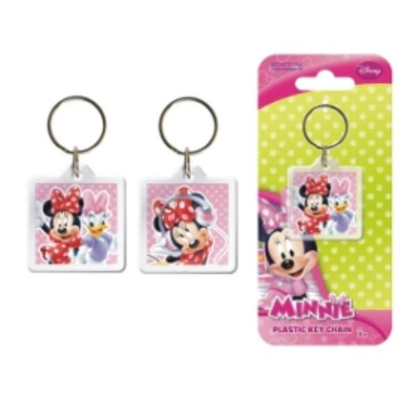 Minnie & Daisy műanyag kulcstartó