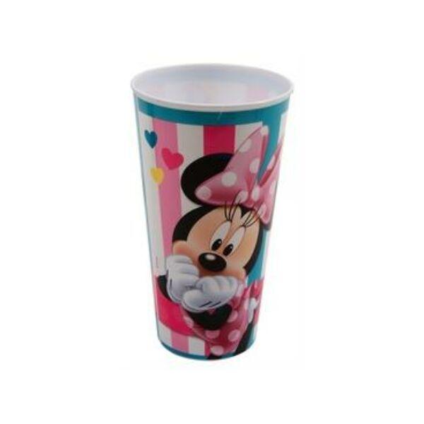 72f138ef02 Minnie egér mintás fél literes nagy műanyag pohár