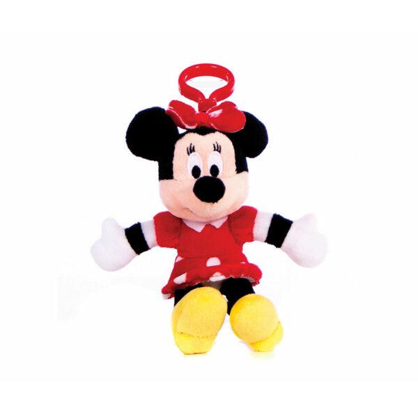 Minnie egér plüss kulcstartó