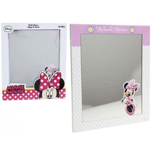Minnie egér fakeretes asztali tükör