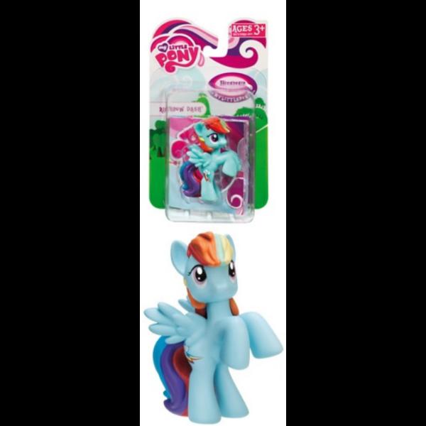Rainbow Dash gumírozott műanyag figura