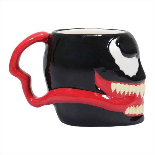 Venom alakú prémium kerámia bögre