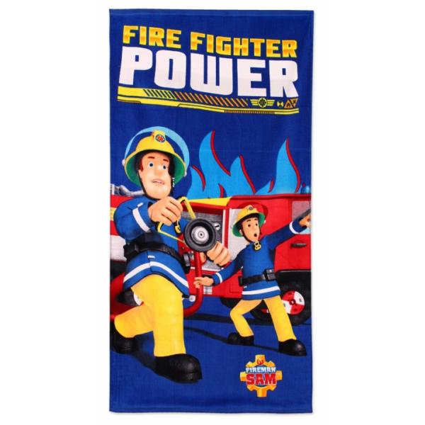 Sam a tűzoltó nagy pamut törölköző - Strandeszközök ... df6a9e2272