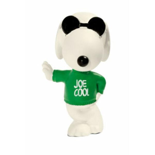 Snoopy gumírozott műanyag kis figura