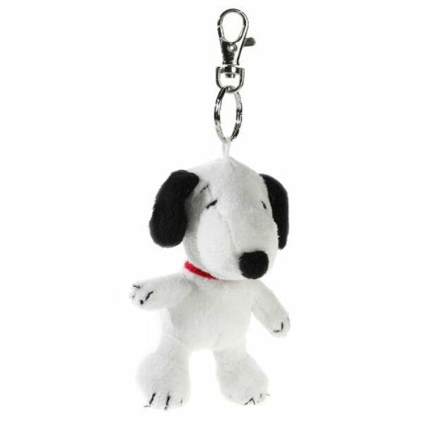Snoopy plüss kulcstartó