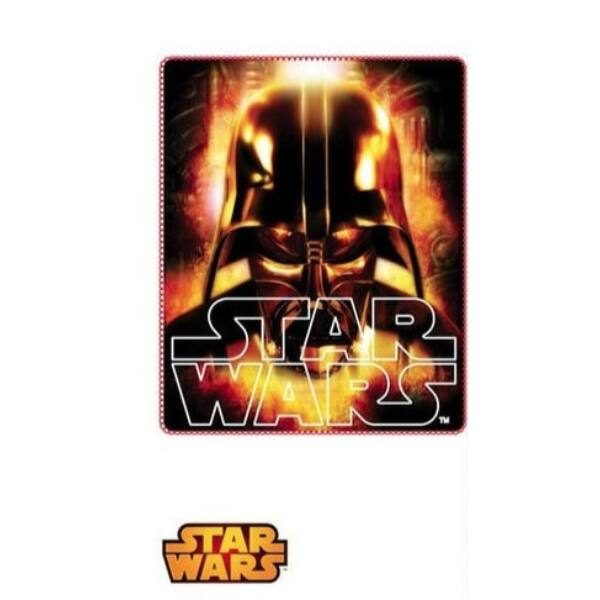 Star Wars Darth Vader mintás puha polár takaró - Disney ajándék ... ebc0e621f4
