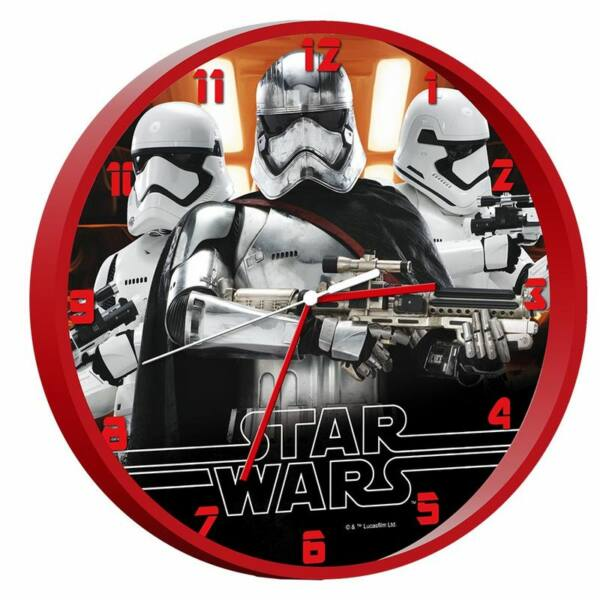 Star Wars rohamosztagos falióra
