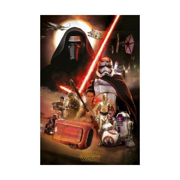 Star Wars prémium poszter - VII. rész - Disney ajándék ötletek ... 3b2d2560bb