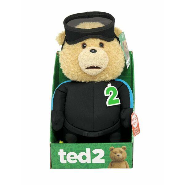 Úszó ruhás Ted plüssfigura