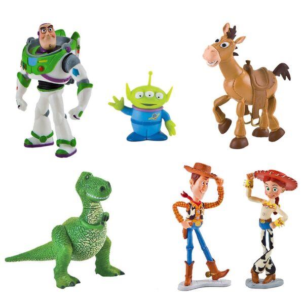 EGYÜTT OLCSÓBB  Toy Story kis gumírozott műanyag figura szett - 6 db ... c89194ed05b