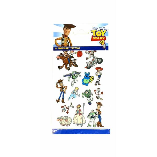 Toy Story 4. tetoválás szett