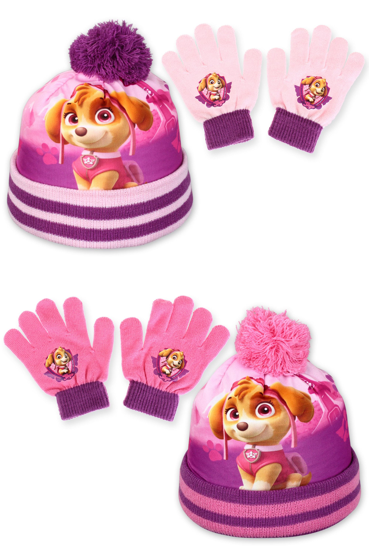 51392d6508 Mancs őrjárat rózsaszín sapka és kesztyű szettben - 1 szett - Ruházat -  RajzfilmJátékok bolt és webáruház